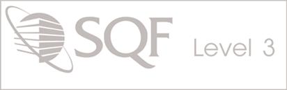 SQF Level 3 Logo - awarded to Mama Lola's Tortillas